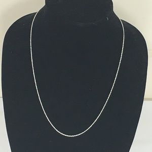 Jewelry - Brand New Sterling Silver Diamond Cut Rope Chain